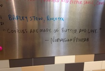 Kitchen Quotes / Weekly quotes from Chef Jon!