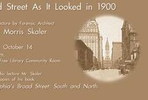 Broad Street As It Looked in 1900, by Robert Morris Skaler