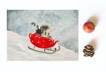 Christmas Decor, Carousels and Nativities  / by Nancy Turner