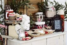 Winter Holiday Ideas / Christmas, New Years, valentines