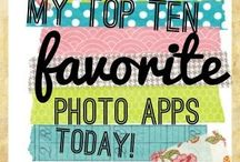 App Love / Project life, photo editing, phone, apps, memory keeping