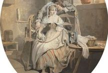 18th c. Gowns & Shortgowns / by Kate {Beatriz Aluares}