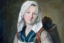 Clothing: French 18th century / French and New France / by Kate {Beatriz Aluares}