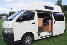 HIGH TOP CAMPERVANS / The best campervans for travelling.