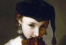 18th c. Caps, Hats & Bonnets / by Kate {Beatriz Aluares}