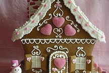 gingerbread houses / by Joyce Avans