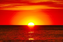 """Sunrise, Sunset, Sunshine on my Shoulders . . .  / A beautiful sunrise or sunset reminds me to cherish each day . . . """"Sunrise, Sunset, Swiftly fly the years,  One season following another, Laden with happiness and tears."""" (Fiddler on the Roof lyrics)"""