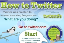 "Twitter / Microblogging with Twitter. Twitter is an online social networking service and microblogging service that enables its users to send and read text-based messages of up to 140 characters, known as ""tweets"". / by Linda Ralston"