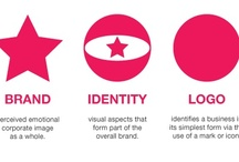 Branding & Logos / What is brand? – The perceived emotional corporate image as a whole. What is identity? – The visual aspects that form part of the overall brand. What is a logo? – A logo identifies a business in its simplest form via the use of a mark or icon. / by Linda Ralston