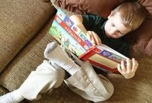 Little Readers / Check out these adorable little bibliophiles! / by Barefoot Books