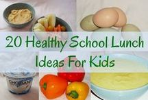 School Lunch Ideas / This board has some creative, healthy and fun school lunch ideas.  / by Barefoot Books