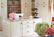 Crafty craft room =) / by Michelle Mendiola