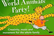 World Animals Party Inspiration / Here are ideas for your World Animals Party - make it your own with a unique craft and snack. Check out ideas for fun food,  drinks and activities to make your party unforgettable!  / by Barefoot Books