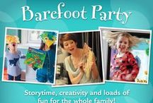 Kid-Friendly Barefoot Party Inspiration / Refreshment and activity inspiration for your Barefoot party!  / by Barefoot Books