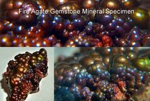 Fire Agate Mineral Specimen Collection / It's all about Fire Agates Gems. A selection of Fire Agate mineral specimens brought to you by Fire Agate US, dedicated to providing information and awareness of quality fire agate gems, high grade gemstone rough, fire agate jewelry and mineral specimens. Fire Agate US is owned and operated by Maricopa Mining. / by Fire Agate US