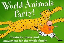 World Animals Party Activity Ideas / Here are ideas for your World Animals Party - make it your own with a unique craft and snack. Check out ideas for displaying your books and products.  / by Barefoot Books