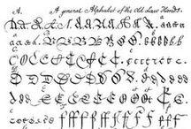 Handwriting: transcribing/deciphering / by Vickie Peck