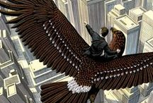 Bird's Eye View / A collection of images depicting great heights and adventure!
