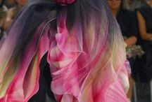 Chiffon flower dress