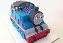 Samir turns 5!! / Thomas and Friends Birthday Part