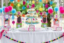 Parties Galore / I should have been a party planner in my second life!!  The challenge to re-create a theme & show some wow is my goal!  The unexpected, the fun and the smiles makes the work all worth while! / by Lynn Feight