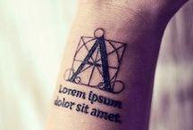 Tattoos / by Rebecca Barbush Chabot