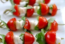 Caprese on a Stick / Appetizers / by Pam McCarty