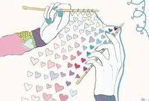 knitting  is  L <3 V E / by Robin Hamann