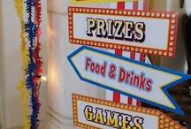 Circuse Carnival Fairs  Theam Parks Photos  Shots   Book Fairs / atalog fo game etc/alsorecipe / by Al Bo