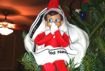 Elf on the Shelf's Undie Fetish / Naught Elf on the Shelf. / by WTFPinterest .com