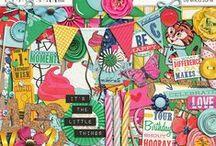 EZ Kits / Digital Scrapbooking kits by Erica Zane at Sweet Shoppe Designs / by Erica Zane