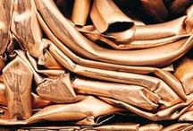 Gold, Bronce & White