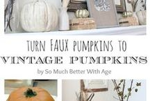 Fall & Thanksgiving Decor / Decorating for Fall