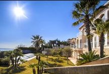Waterfront property with dock and boathouse in Agay / http://www.cotedazur-sothebysrealty.com/sole-agent-waterfront-villa-agay-for-sale-cn4616.html
