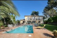 Charming luxury villa close to the golf course in Mougins / http://goo.gl/qpemvs
