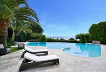 Magnificent property with a breathtaking view of the sea and over the Cap d'Antibes / http://goo.gl/A6vVAR