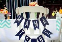 Shower Decor : Baby shower / by Sun & Sparrow Photography