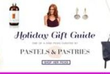 This Christmas: Pastels and Pastries' Gift Picks / Shop Pastels and Pastries' gift picks from #OOAKOnline! Shop the guide here: oneofakindonlineshop.com/pastels-and-pastries.html