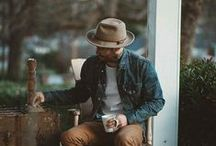 Men   Fashion   Style / Celebrating the Rugged Men, whose style is masculine and edgy yet fashion-forward and thoughtfully put together.