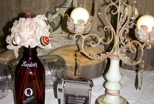 Tablescapes By Southern Jeweled / We have so many items and can make every table centerpiece different!