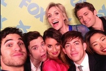 """GLEE / """"Being a part of something special does not make you special. Something is special because you are a part of it."""" –Rachel / by Alex Galloway"""