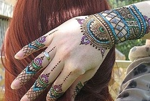 Beauty of Tattoos - Mehndi and Heena / Traditional Indian mehndi and heena. beautiful Tattoos on body.