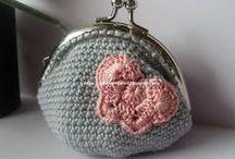 crochet coin purse(πορτοφολάκια)