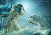 Sirenas (dibujos)