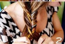 DIY hairstyles / how to's..... / by Lisa Snigger Frisby