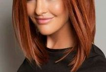 Red Hair / Hair color we love: blondes, brunettes, reds and more! Make an appointment today at our Lansdale, PA salon. Show your stylist your color inspiration. Don't forget to tell us you saw the style on Pinterest! 215-361-8680