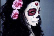"""day of the dead. / """"it's not death we should fear, but not having lived."""" ―anonymous"""