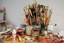 Art / Love of beauty is taste. The creation of beauty is art.  Ralph Waldo Emerson