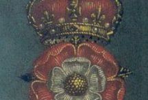 """All THiNgSs EliZaBeThAn / The Elizabethan era was the epoch in English history of Queen Elizabeth I's reign (1558–1603). Historians often depict it as the golden age in English history. The symbol of Britannia was first used in 1572 and often thereafter to mark the Elizabethan age as a renaissance that inspired national pride through classical ideals, international expansion, and naval triumph over the hated Spanish foe. In terms of the entire century, John Guy (1988) argues that """"England was economically healthier, more expansive, and more optimistic under the Tudors"""" than at any time in a thousand years.[1]  It was the height of the English Renaissance and saw the flowering of poetry, music and literature. The era is most famous for theatre, as William Shakespeare and many others composed plays that broke free of England's past style of theatre. It was an age of exploration and expansion abroad, while back at home, the Protestant Reformation became more acceptable to the people, most certainly after the Spanish Armada was repulsed. It was also the end of the period when England was a separate realm before its royal union with Scotland. / by Penny Faragher"""