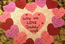 Valentine's Day Ideas / Because I love all things LOVE. Food, crafts, cards, flowers, dates - it's all so fun!